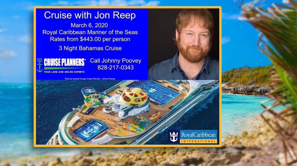 Cruise with Jon Reep